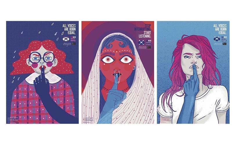 Uomini che interrompono le donne | Woman Interrupted © BECT São Paulo