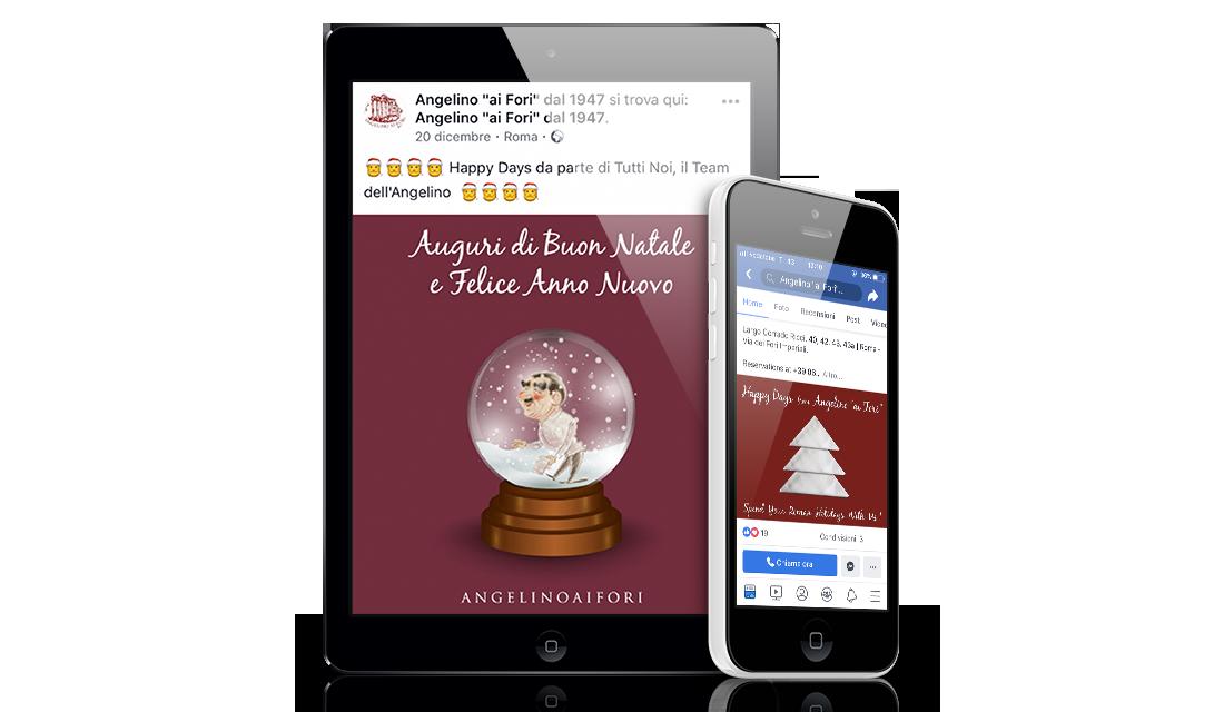Digital Advertising social management ristorazione