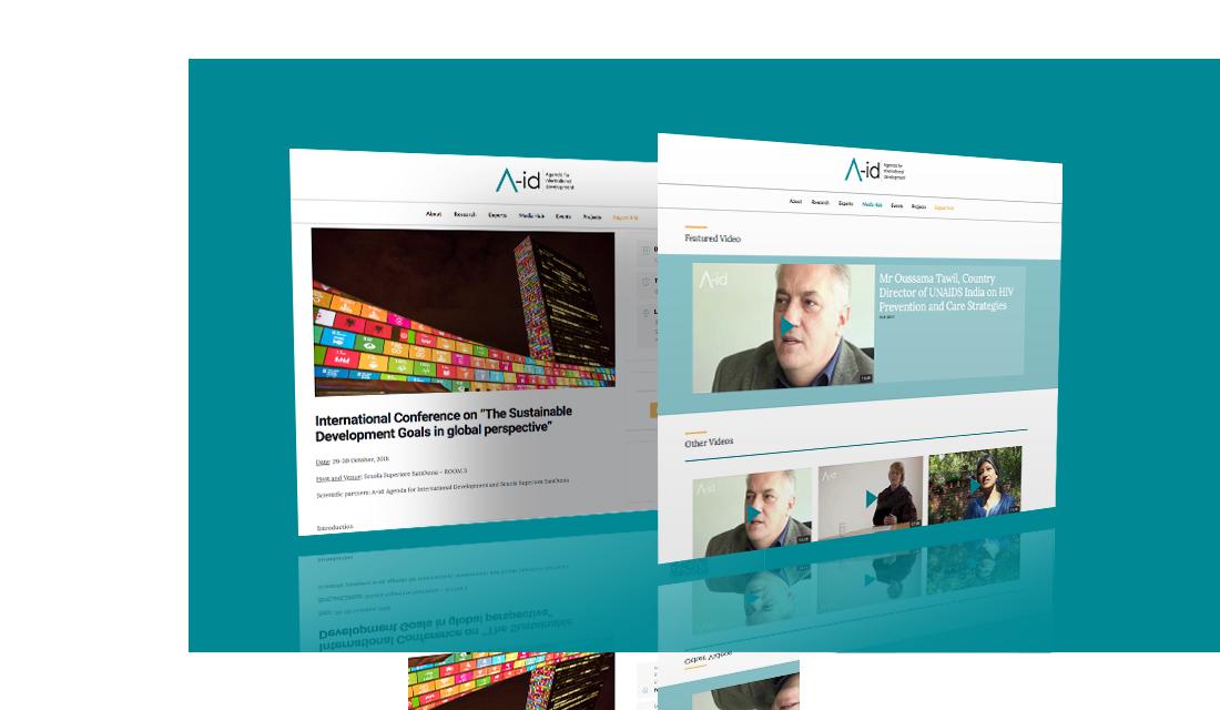 Sito web Landing page responsive CMS web design UI UX SEO think tank | PRINGO