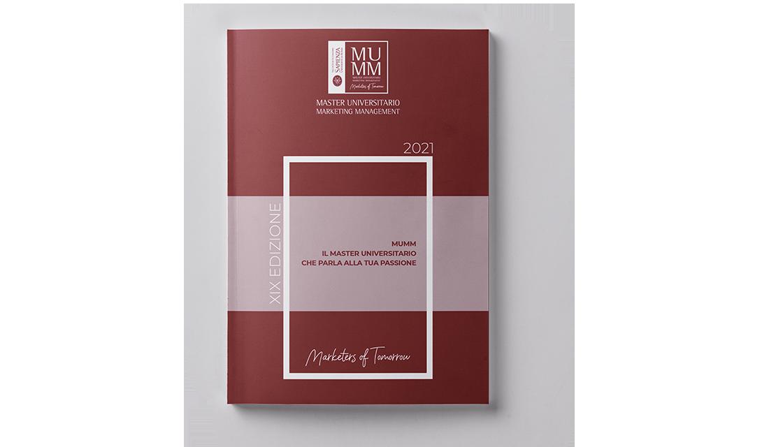 Copertina brochure MUMM | PRINGO