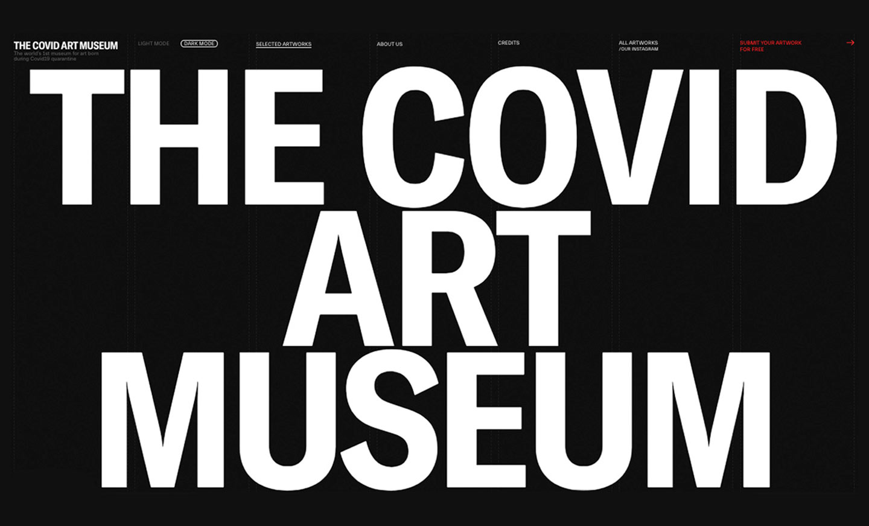 Covid Art Museum CAM   PRINGO