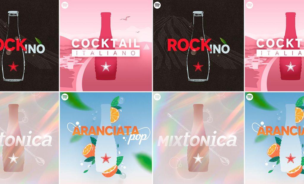 San Pellegrino e Spotify | PRINGO